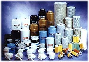 Assorted Model Of Fuel Filters (Microlite Fuel Spin-on and Fuel Element Type)