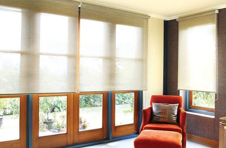 Roller Blinds @ Pulley Chain System