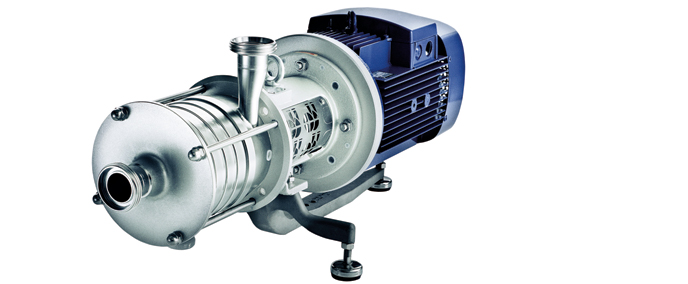 Single-stage and multistage end-suction sanitary pumps Contra