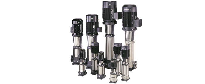 Multistage pumps for pressure boosting in a wide range of applications CR