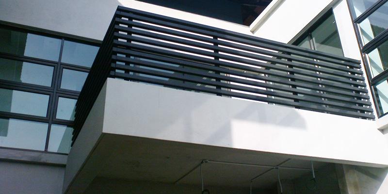 Metal balcony railing in kuala lumpur online store planet for Balcony design ideas malaysia