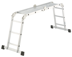 Buy Aluminium universal ladder, 4-section