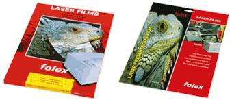 Buy Gloss White Film for Colour Laser Printers