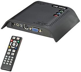 Composite Video to VGA Converter Box