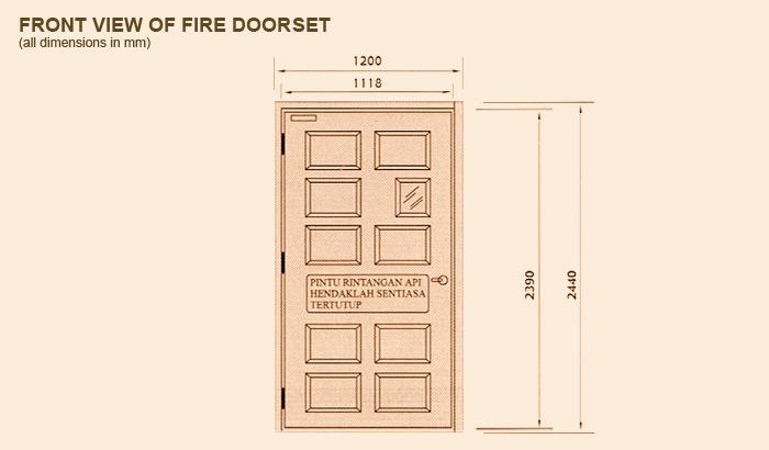 MIDAH Fire Resistant Doorsets