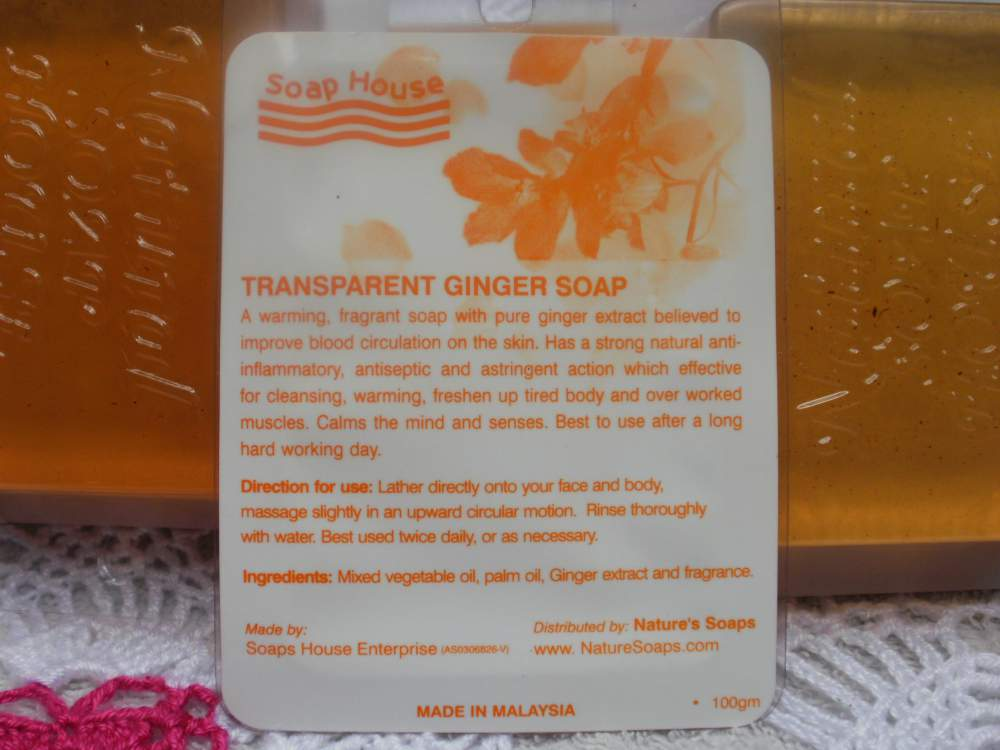 Buy Ginger Natural Soap
