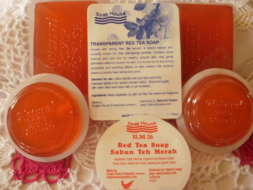 Buy Red Tea Natural Soap