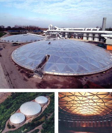 Aluminum Geodesic Dome