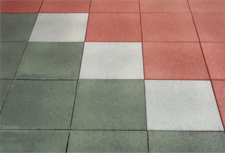 Satisflex Rubberised Floor Tiles