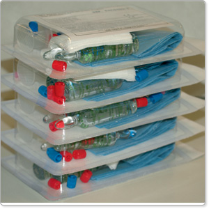 Kits and trays for minor procedures