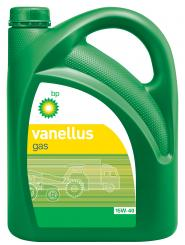 Vanellus Gas 15W-40 is a low ash engine oil