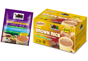 Buy Nature's Own Instant Brown Rice Beverage All In One (Chocolate Flavour)