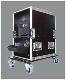 Buy Case fog, fan in a flightcase