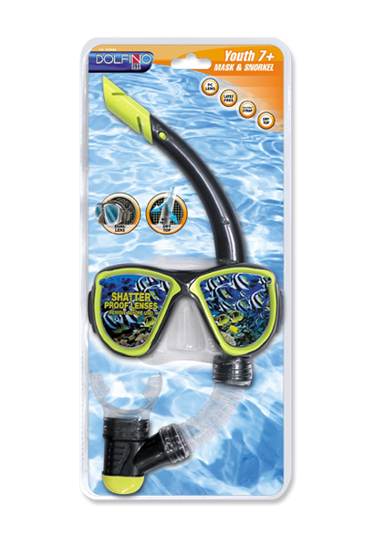 Youth Mask And Snorkel Set