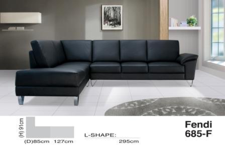 Corner Sofa Fendi 685 F