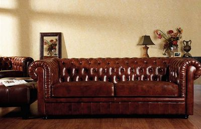 Buy Classic Style Leather Sofa