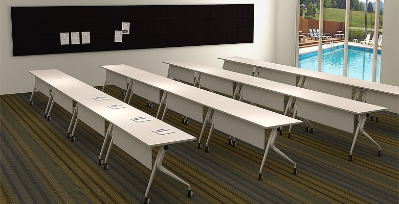 Products Training Meeting Conference And Foldable Table Series - Foldable training table