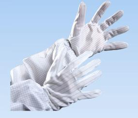 Buy Conductive polyester gloves