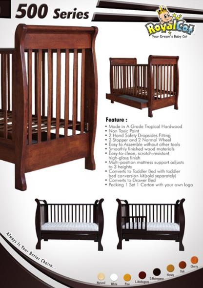 Buy Hardwood Baby Cot