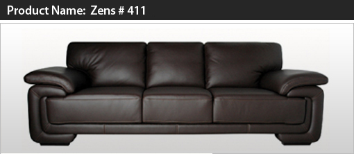 Buy Zens Leather Sofa