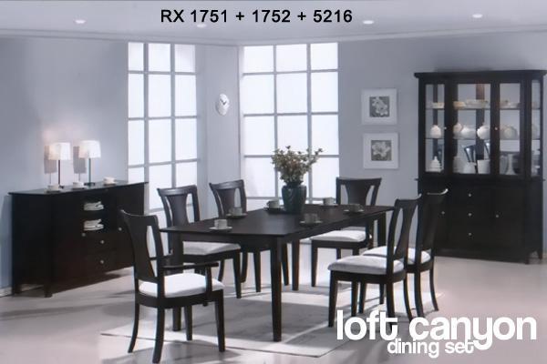 Buy Loft Canyon Dining Set