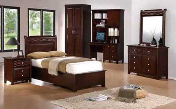 Children Single Bed Bedroom Set