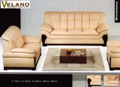 Domino Leather Sofa