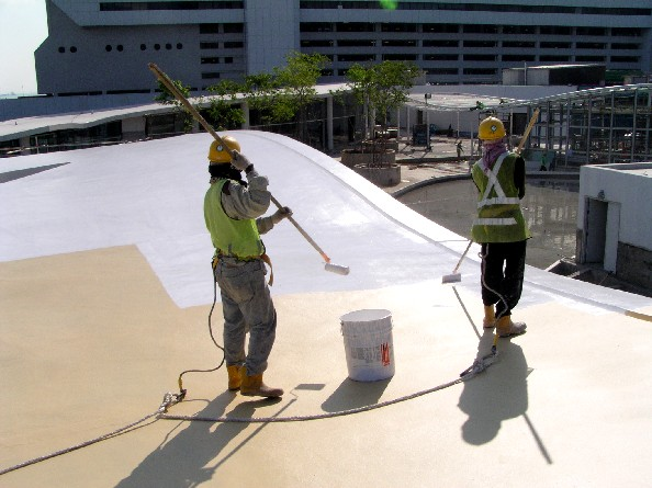 P.U. Liquid Applied Waterproofing System