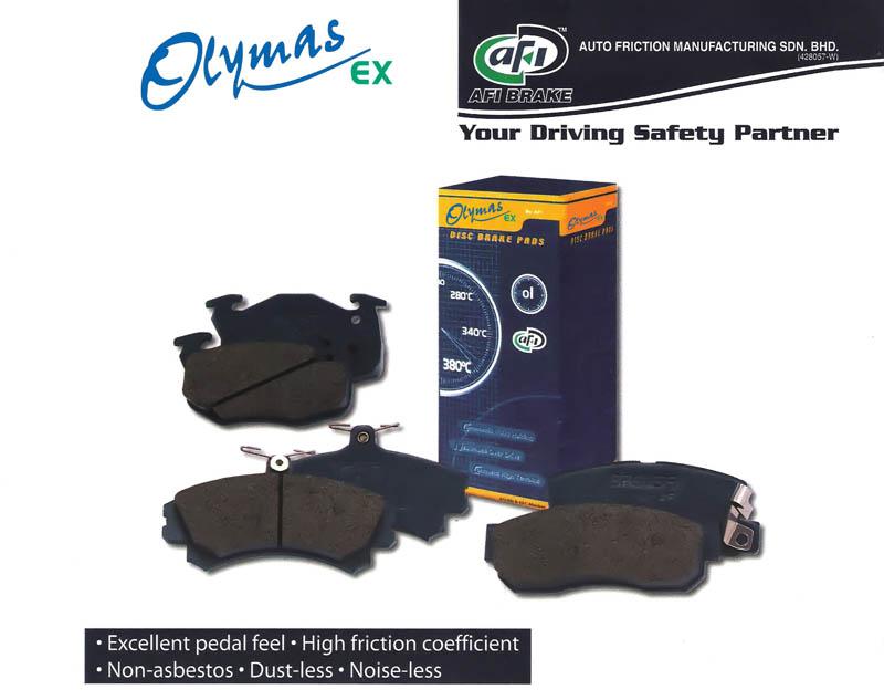 Buy Olymas EX Break pads