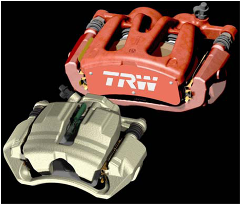 One and Two Piston Fist Type Caliper