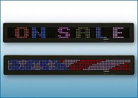Buy Single Line Full Color LED Sign