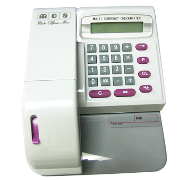 Buy Cheque Writer, MOA MCEC 310