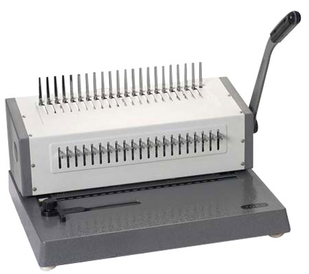 Buy Plastic Comb Binding Machine, MOA HP-2088