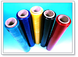 Buy Coloured and printed stretch film