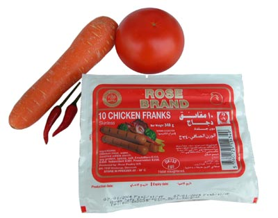Buy Rose Chicken Frank 340g