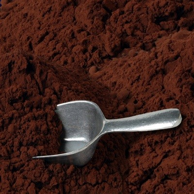 High fat cocoa powders
