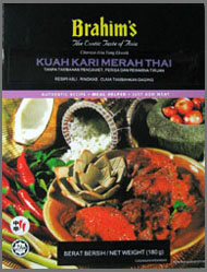 Buy Brahim's Thai Red Curry Sauce