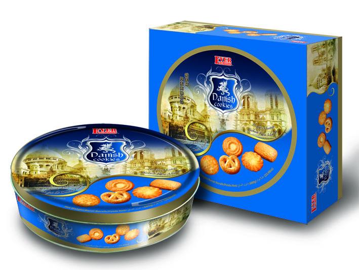 Buy Danish 680g (Dark Blue) Cookies
