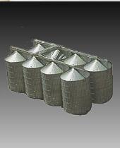 Buy Commercial flat bottom storage silos