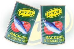 Mackerel in Tomato Sauce PTM Brand