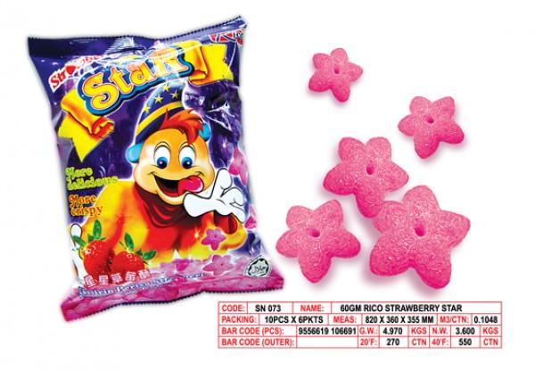 Buy Rico Strawbbery Star Snack