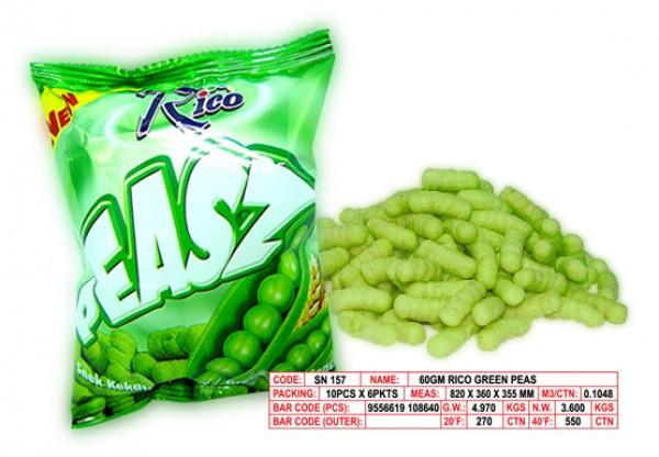 Buy Rico Green Peas Snacks