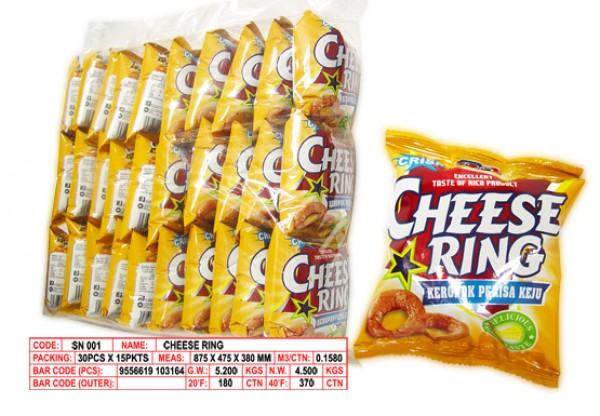 Buy Cheese Rings Snack