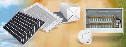 Buy SCHÜTZ underfloor heating systems