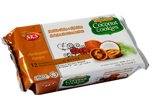 Buy Coconut Cookies - Coffee Flavour