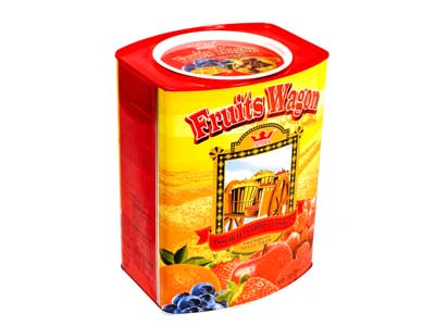 Buy Fruit Wagon : Assorted Fruits Jam Filled Cookies