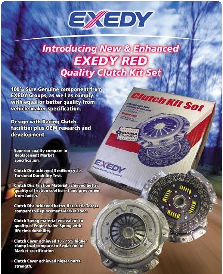 Buy Exedy Kit Set