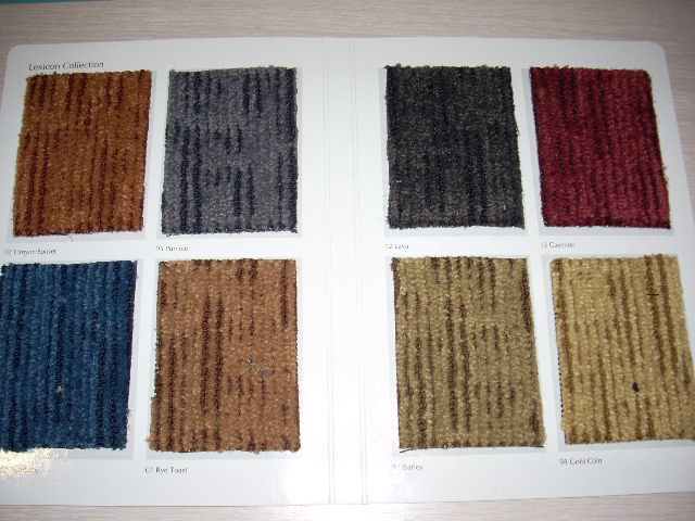Carpet Tiles Lexicon Collection