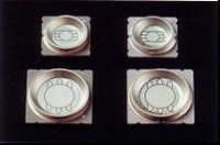 Packages with metal reflectors Light Emission Diode