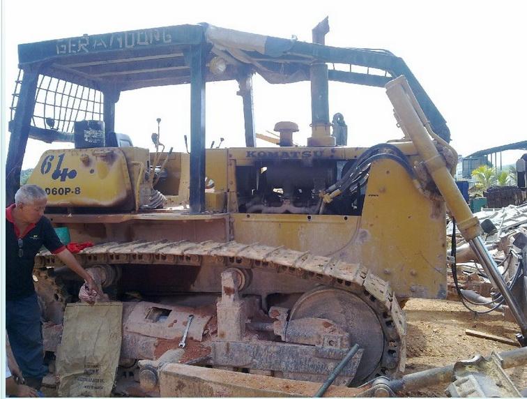 Buy Komatsu Track-Type Tractor